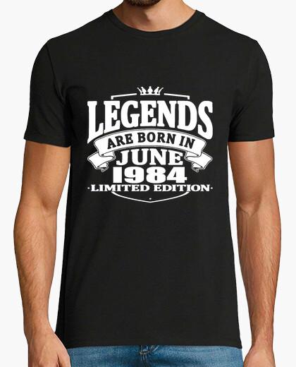 Camiseta leyendas nacen en junio de 1984