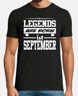 leyendas nacen en septiembre
