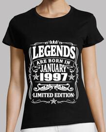 leyendas nacidas en enero de 1997