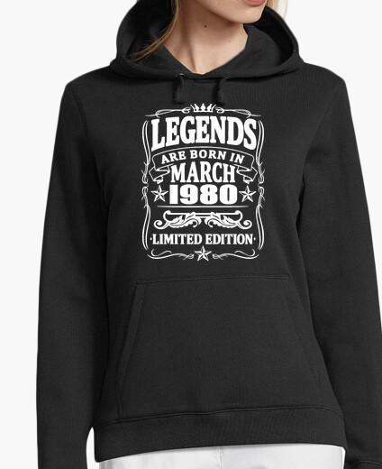 Jersey leyendas nacidas en marzo de 1980