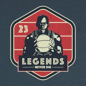 Tee-shirts leyendas nunca mueren - michael jordan