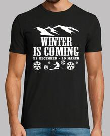 l'hiver arrive