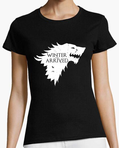 Tee-shirt l'hiver est arrivé