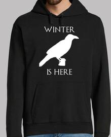 l'hiver est ici (sweat-shirt)