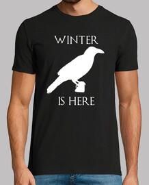 l'hiver est là (l'homme)