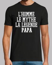 L'homme, le mythe, la légende, papa, bla