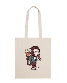 lia pitis scimmia maggiordomo disegno grande mik