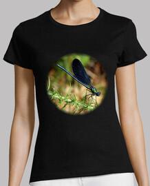 Libélula camiseta mujer