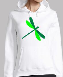libélula verde