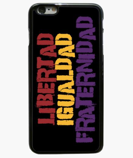 Funda iPhone 6 Plus / 6S Plus Libertad, igualdad, fraternidad (iPhone)