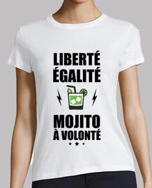 Libertad igualdad mitad a voluntad