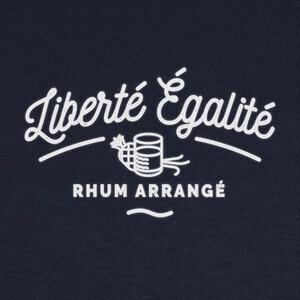 Tee-shirts libertad igualdad ron arreglado