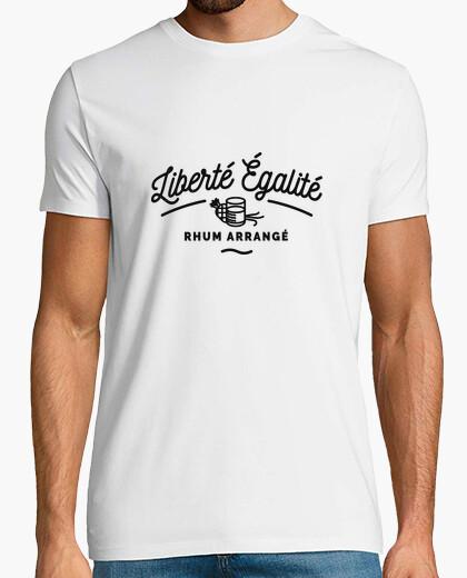 Tee-shirt Liberté égalité - Rhum Arrangé