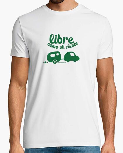 Camiseta Libre como el viento