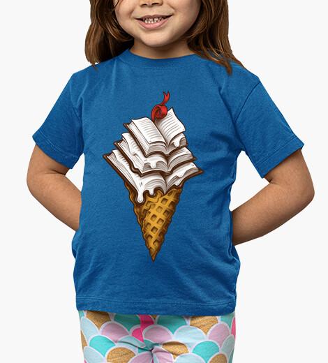 Ropa infantil libros de helado