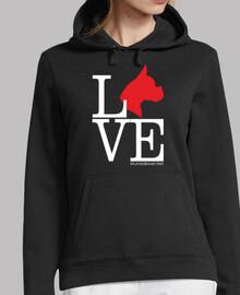 Liebe Boxer Hund roten Hund