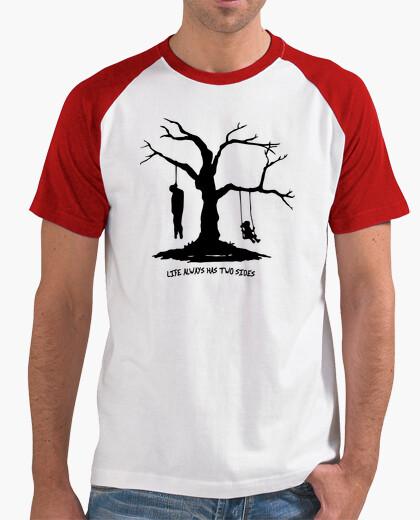 Camiseta life always has two sides