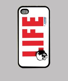 LIFE for ever, Funda iPhone 4, negra