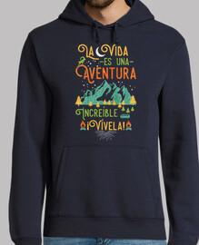 life is an incredible adventure ¡vível