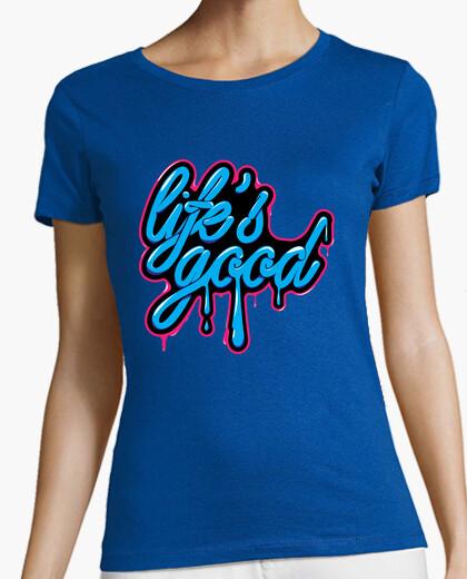 Camiseta Life Is Good (La Vida es Buena)
