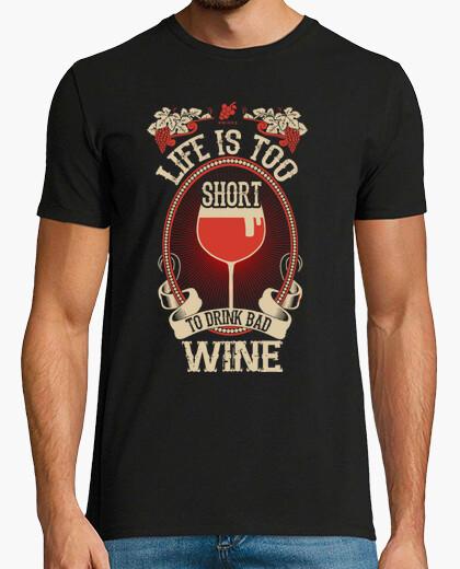 Camiseta Life is too short... Black