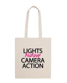 Lights, makeup, camera, action