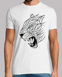 lignes élégantes de lionne