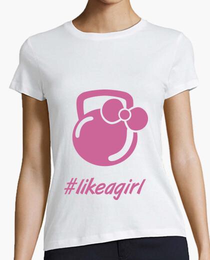 Camiseta Like a girl Mangas