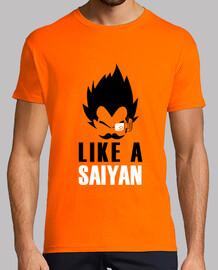 like un saiyan