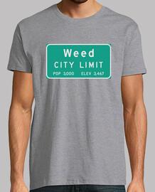 límite de la ciudad de malezas
