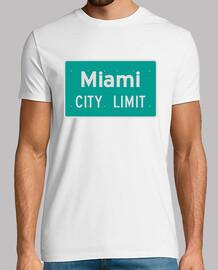 limite della city Miami