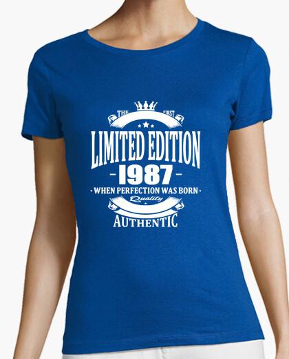 Camiseta Limited Edition 1987