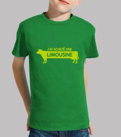 Limousine - kids t-shirt