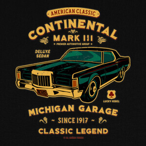 Lincoln Continental MIII T-shirts
