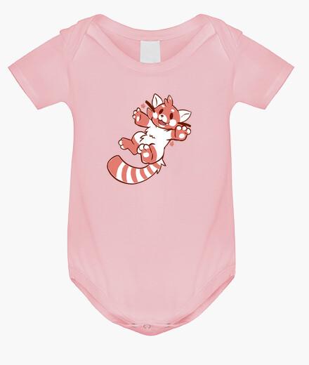 Ropa infantil lindo panda rojo