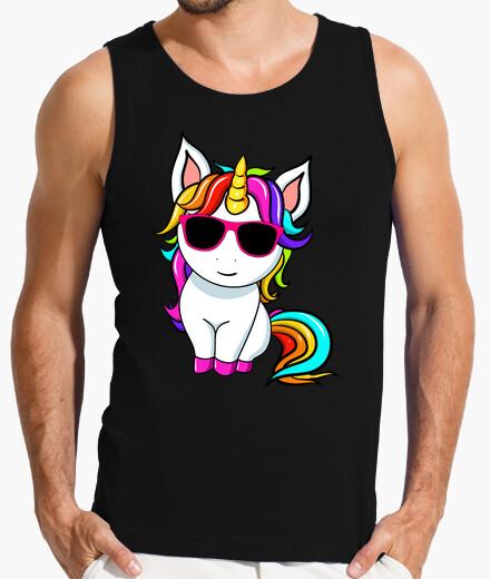 Camiseta lindo unicornio pequeño con...