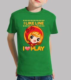 Line Heart Play