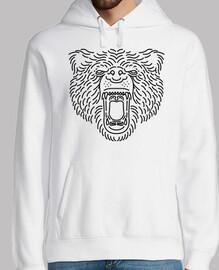 línea de rugido de oso