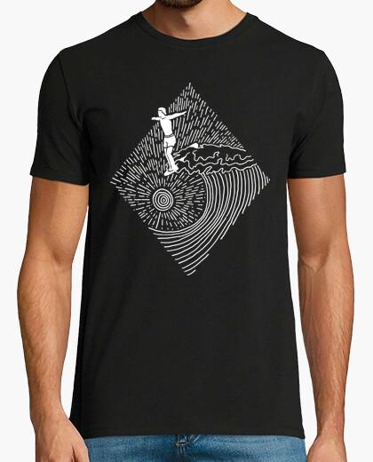 Camiseta línea de surf