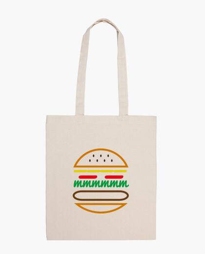 Borsa linee hamburger