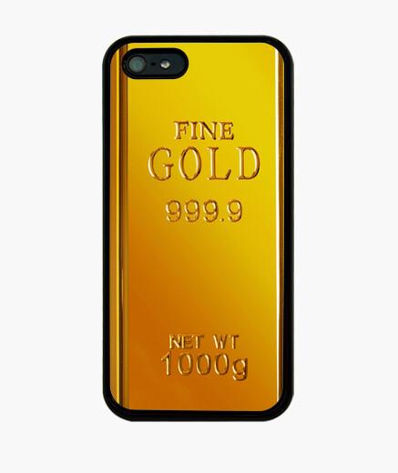 Coque iPhone lingot d'or