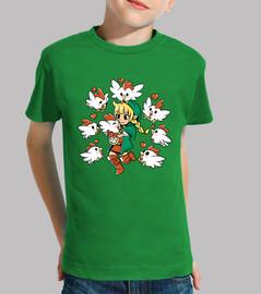 Linkle la Reine Cucco - Tshirt Enfants