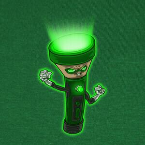 T-shirt Linterna verde