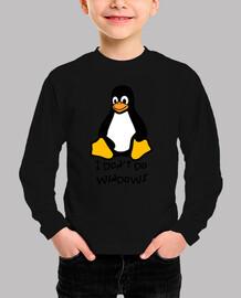 Linux don´t do windows