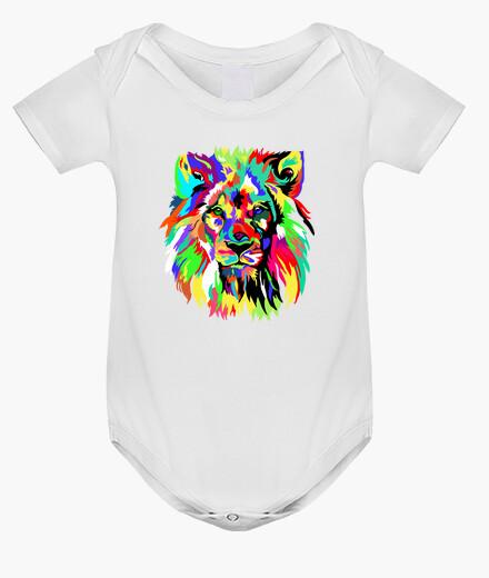 Vêtements enfant lion coloré