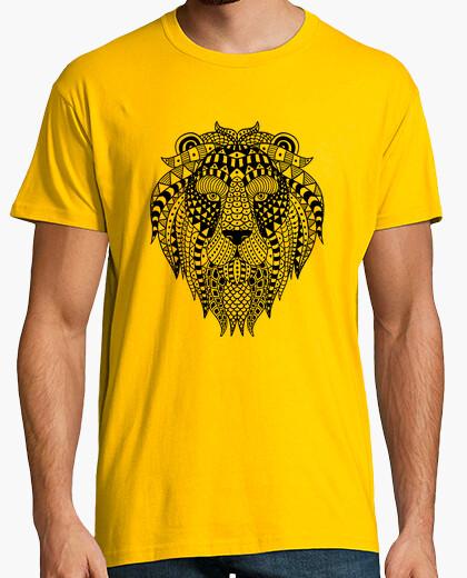 Tee-shirt lion ethnique