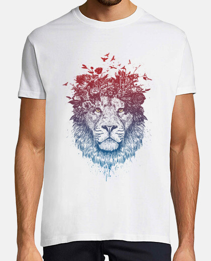 lion floral iii