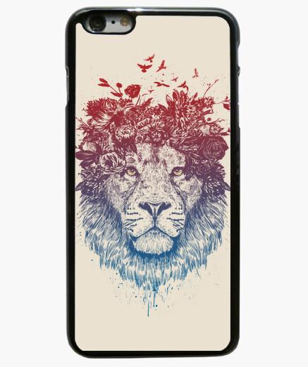 Coque Iphone 6 Plus / 6S Plus lion floral iii