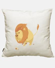 lion grosse tête