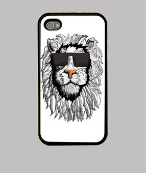 lion iphone 4 / 4s cover